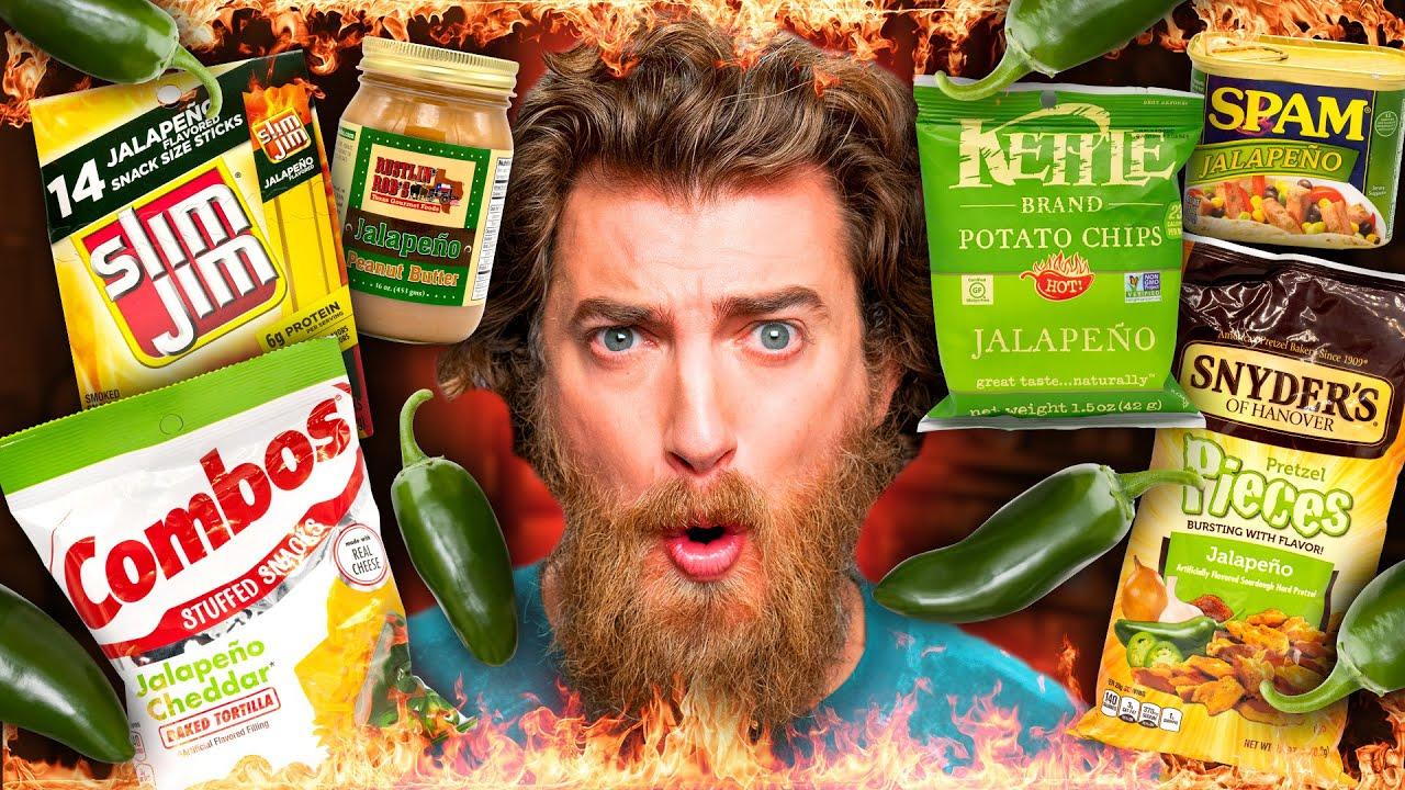 Jalapeno Snacks Taste Test