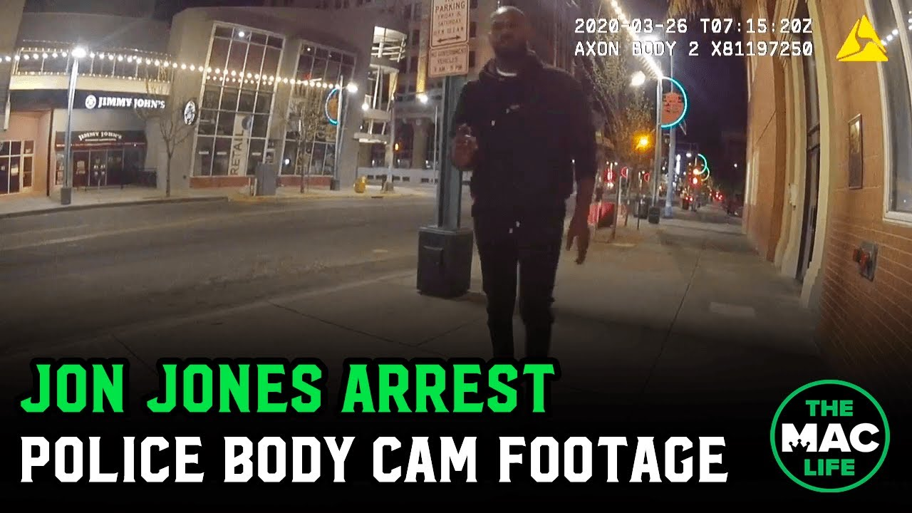 Jon Jones Arrest Footage; Full Police Body Cam Video