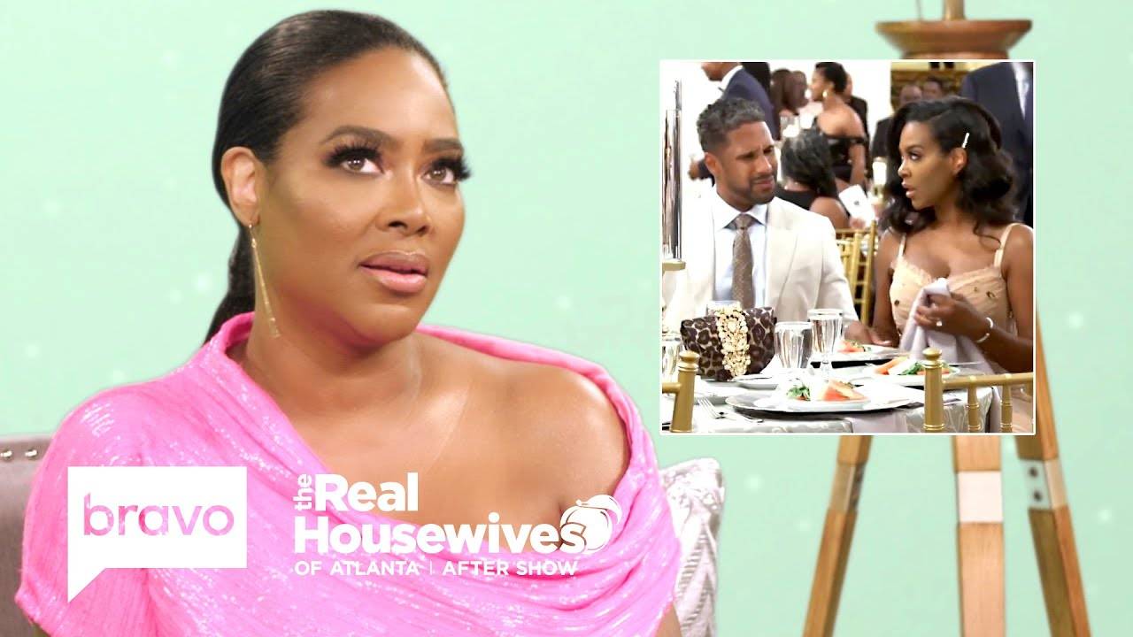 Kenya Moore Speaks Out About Being Disrespected by Her Husband | RHOA After Show (S12 Ep16)
