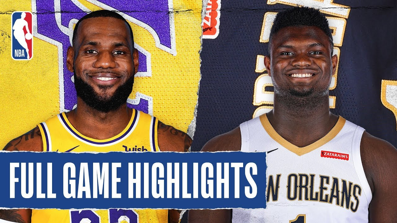 LAKERS at PELICANS | FULL GAME HIGHLIGHTS | March 1, 2020