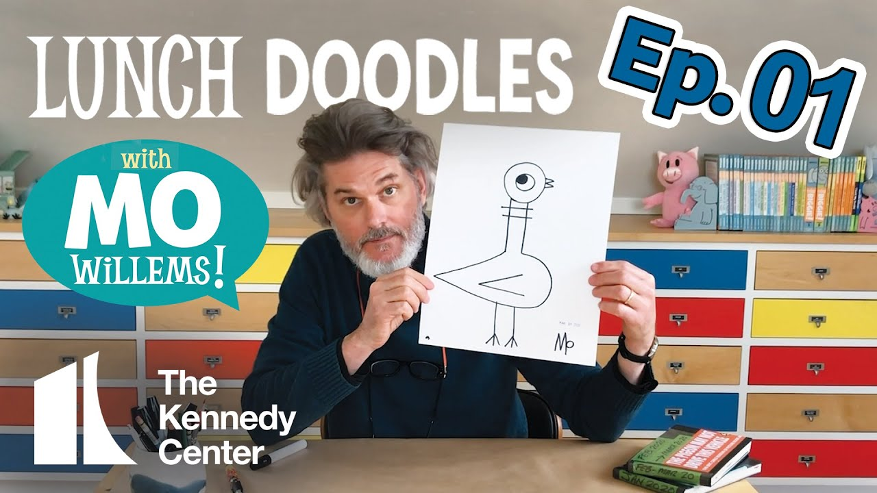 LUNCH DOODLES with Mo Willems! Episode 01