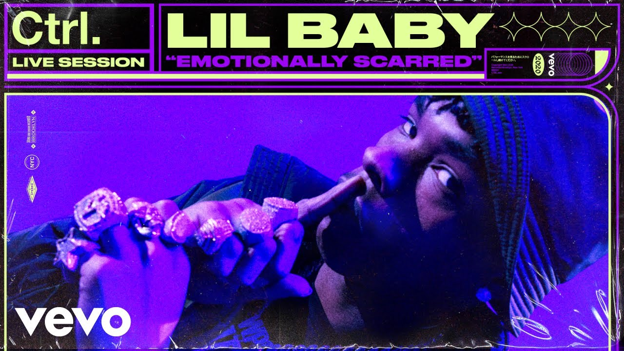 Lil Baby – Emotionally Scarred (Live Session) | Vevo Ctrl