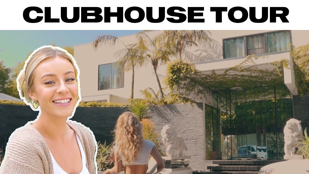 My NEW house Tour *clubhouse**