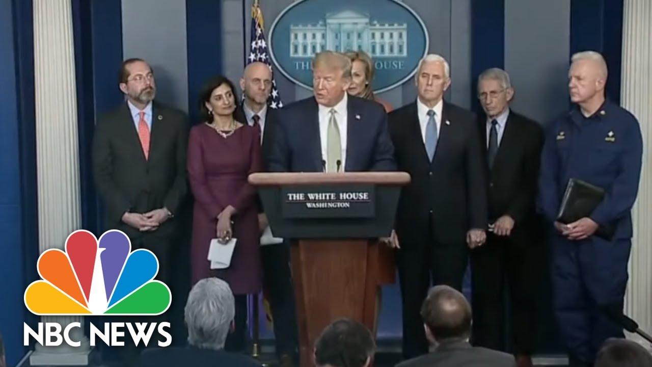 NBC Nightly News Broadcast (Full) – March 17th, 2020 | NBC Nightly News