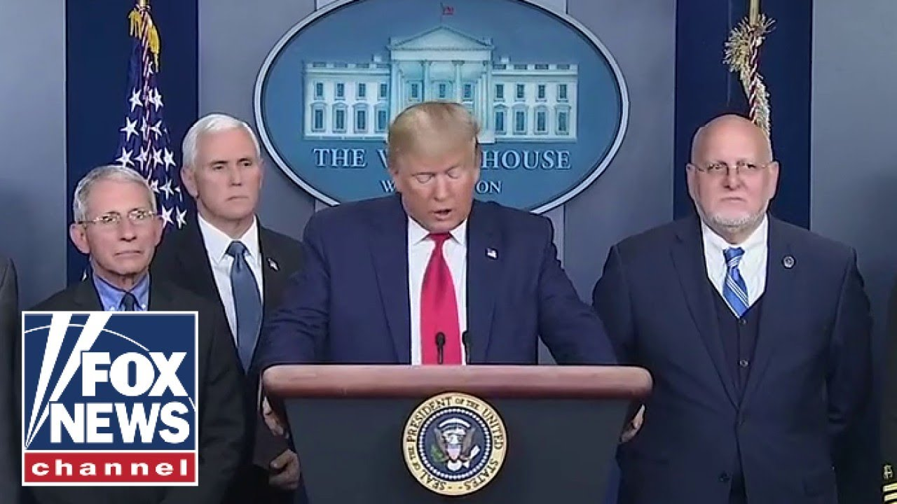 President Trump gives an update on coronavirus