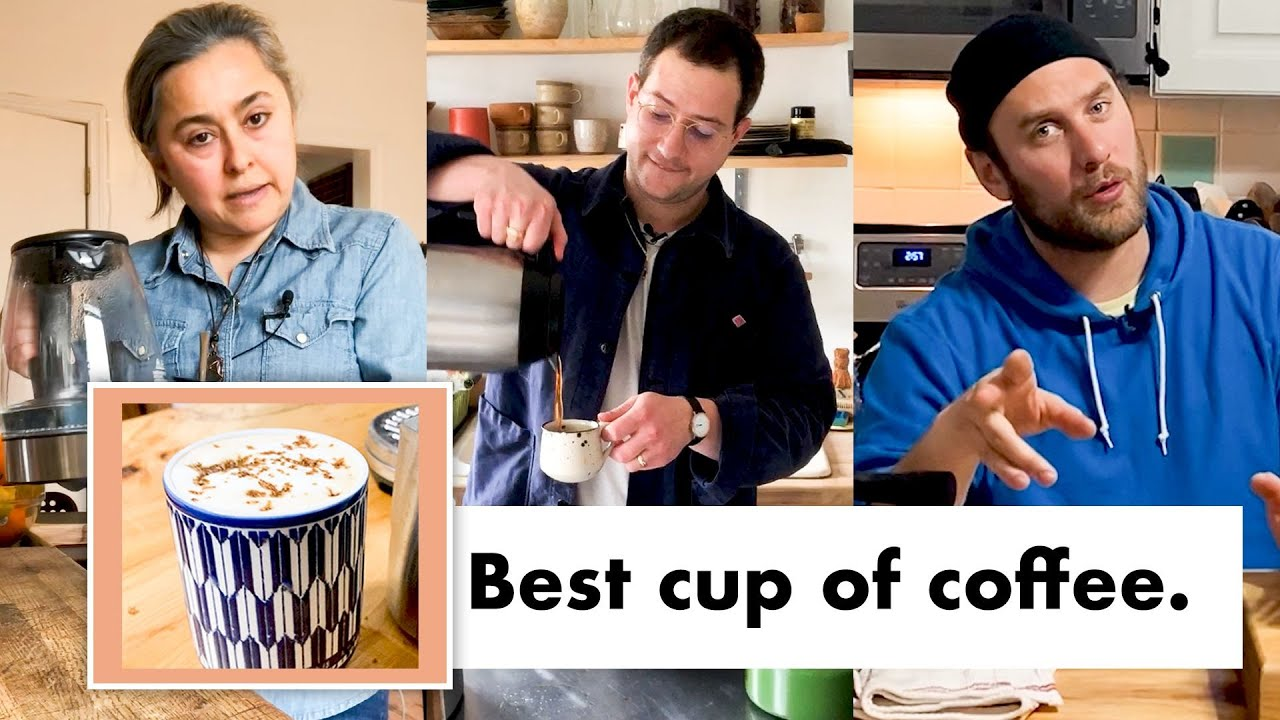 Pro Chefs Make Their Favorite Coffee | Test Kitchen Talks @ Home | Bon Appétit