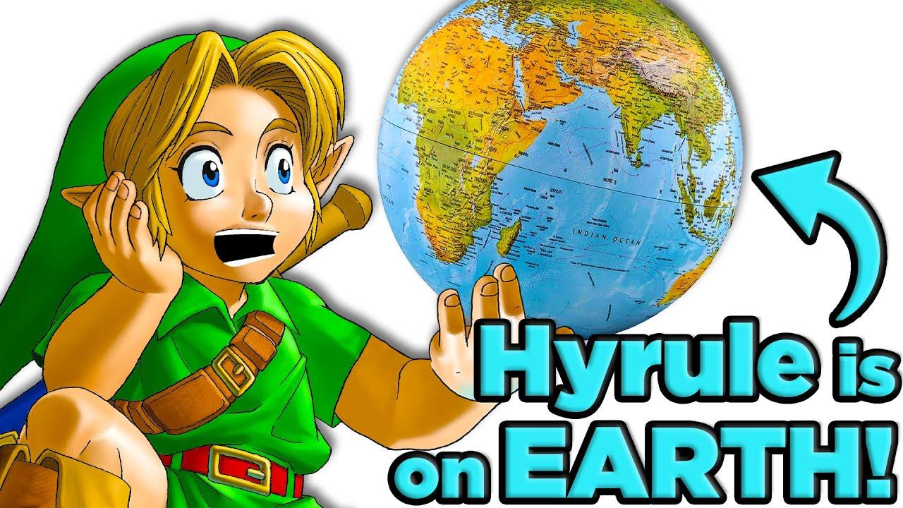 Proof the Legend of Zelda is Earth's Future!   The SCIENCE of… Zelda