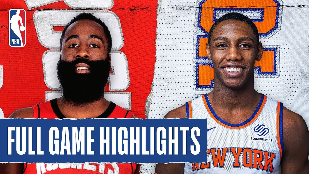 ROCKETS at KNICKS | FULL GAME HIGHLIGHTS | March 2, 2020