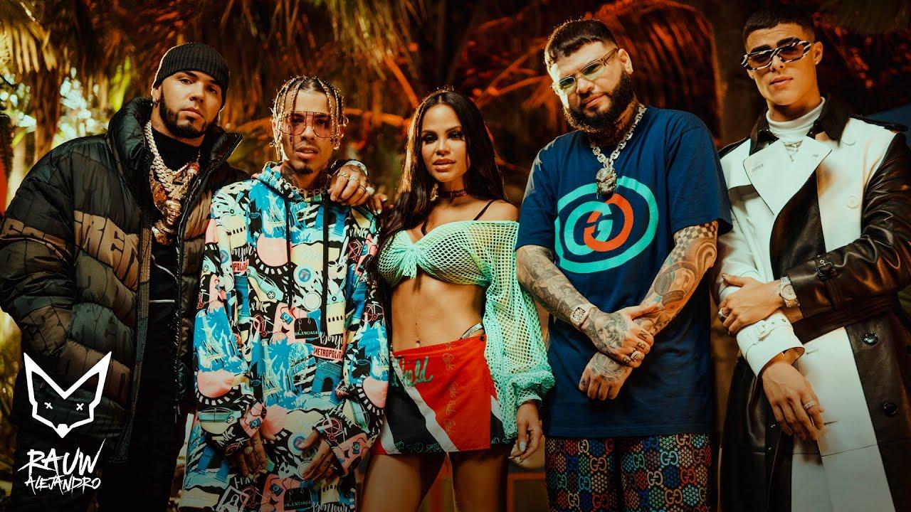 Rauw Alejandro, Anuel AA, Natti Natasha Ft. Farruko y Lunay – Fantasías Remix (Video Oficial)