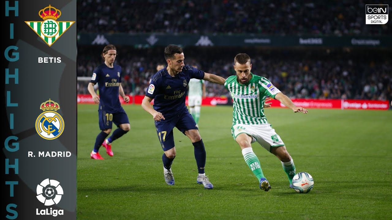 Real Betis 2-1 Real Madrid – HIGHLIGHTS & GOALS – 3/8/2020