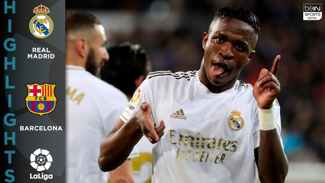 Real Madrid 2 – 0 FC Barcelona – HIGHLIGHTS & GOALS – 03/01/2020