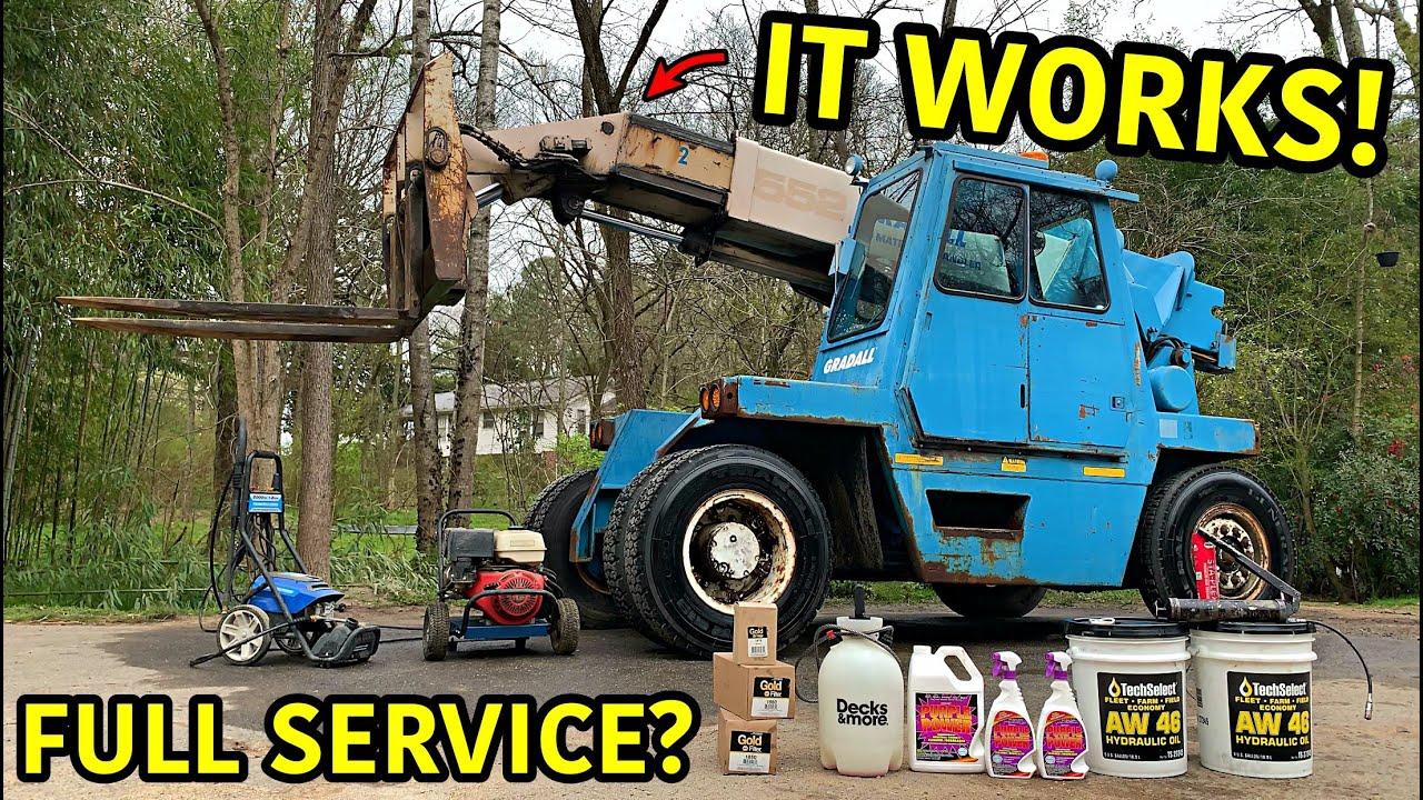 Rebuilding The Worlds Biggest Forklift Part 2
