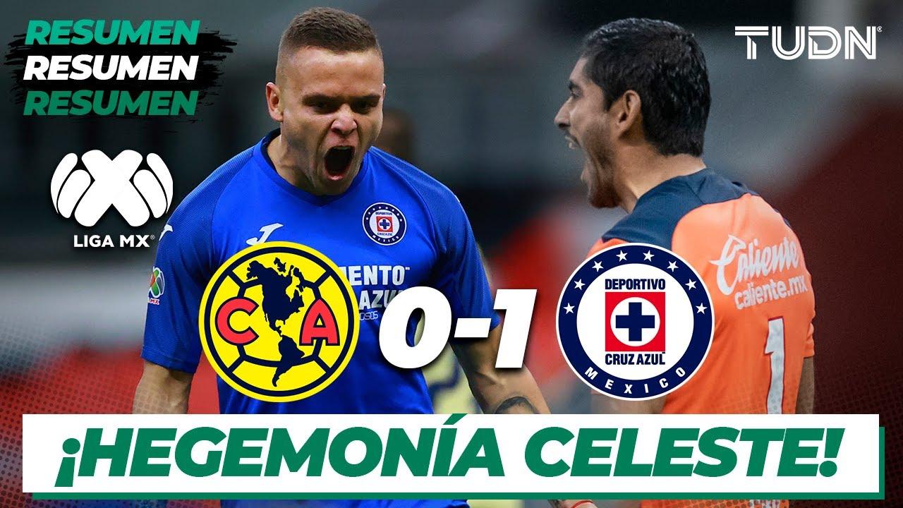 Resumen | América 0 – 1 Cruz Azul | Liga Mx Clausura 2020 – Jornada 10 | TUDN