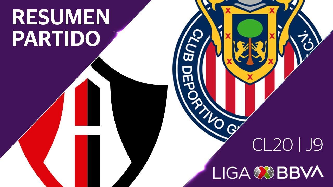Resumen y Goles | Atlas vs Guadalajara | Jornada 9 – Clausura 2020 | Liga BBVA MX