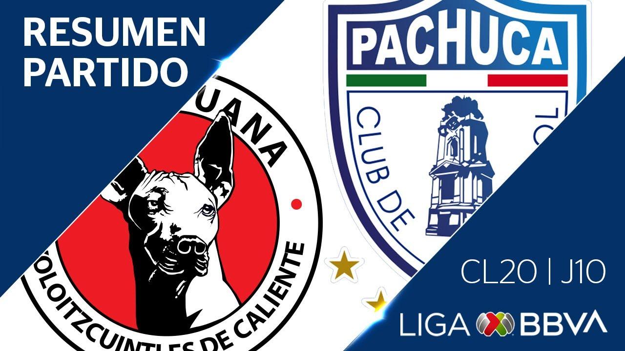 Resumen y Goles | Xolos vs Pachuca | Jornada 10 – CL 2020 | Liga BBVA MX