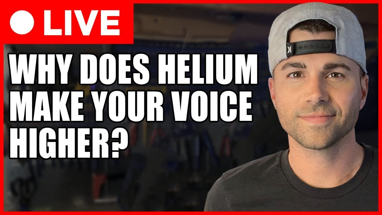 SCIENCE CLASS- WHY Does Helium Make Your Voice Higher?
