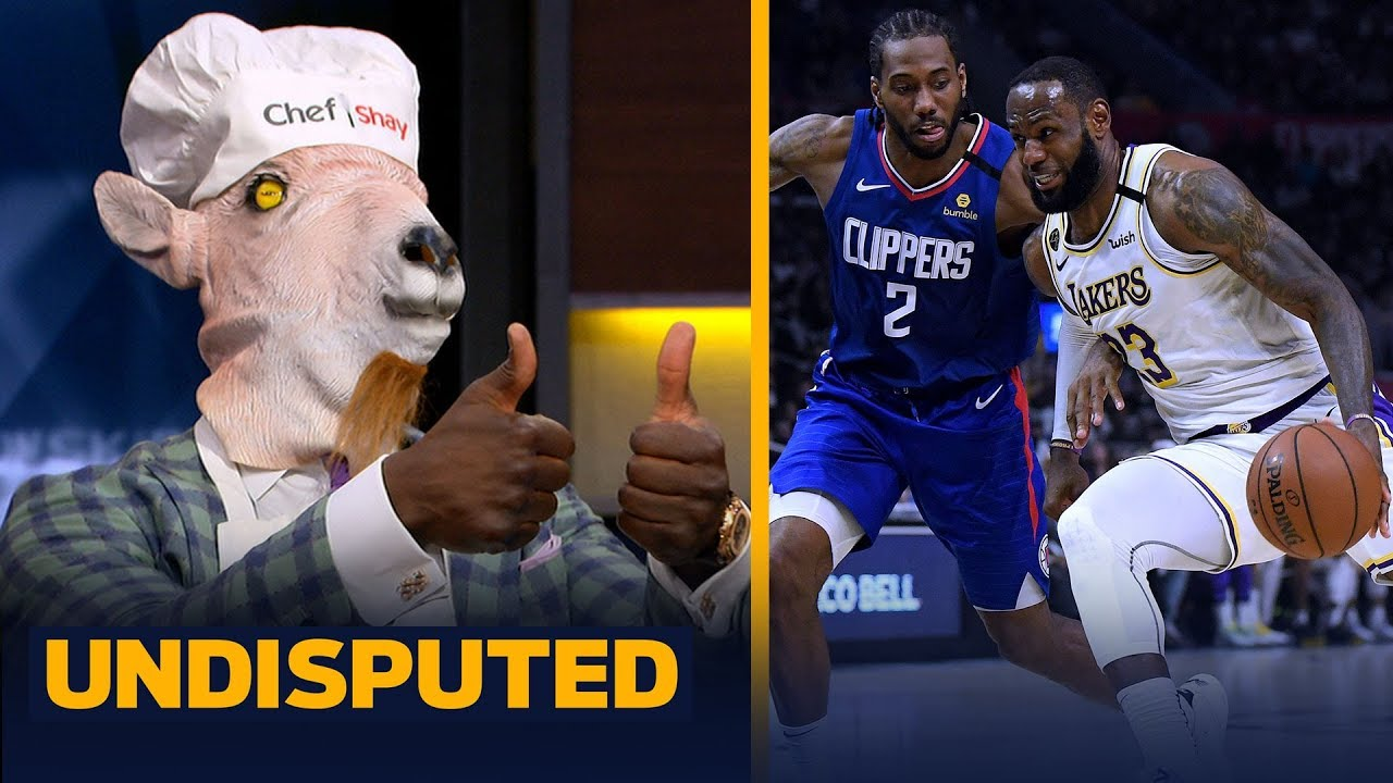 Shannon Sharpe reacts to LeBron's Lakers defeating Kawhi's Clippers 112-103 | NBA | UNDISPUTED