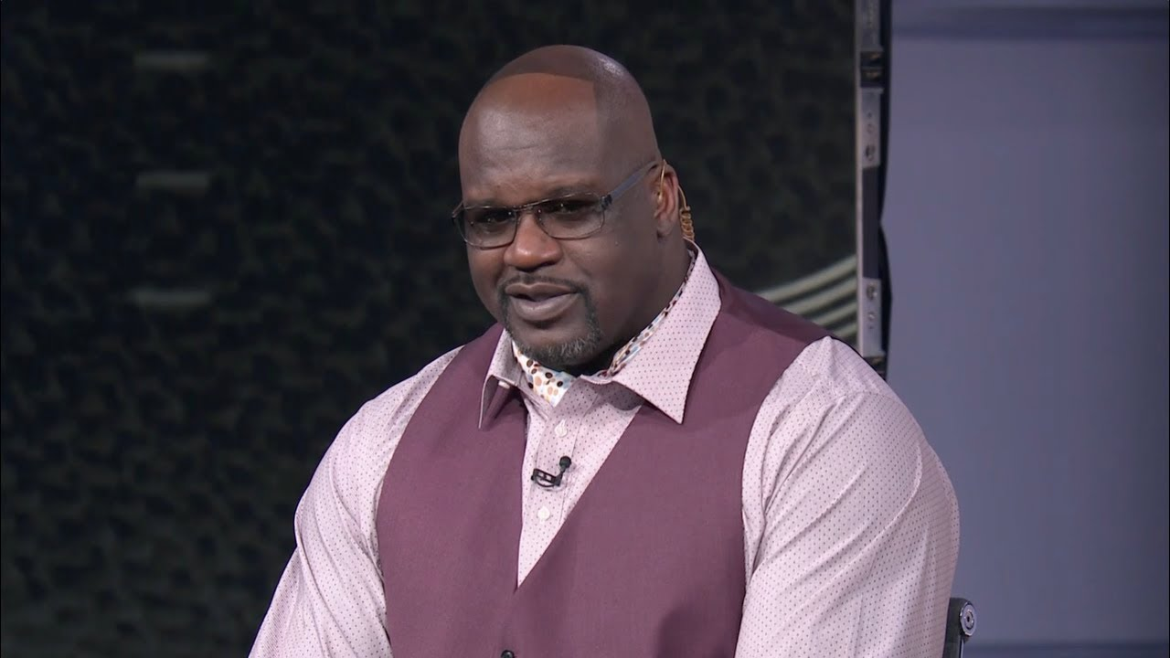 Shaq Loses Bet To Dwyane Wade And Reveals Hairline On Pregame Show
