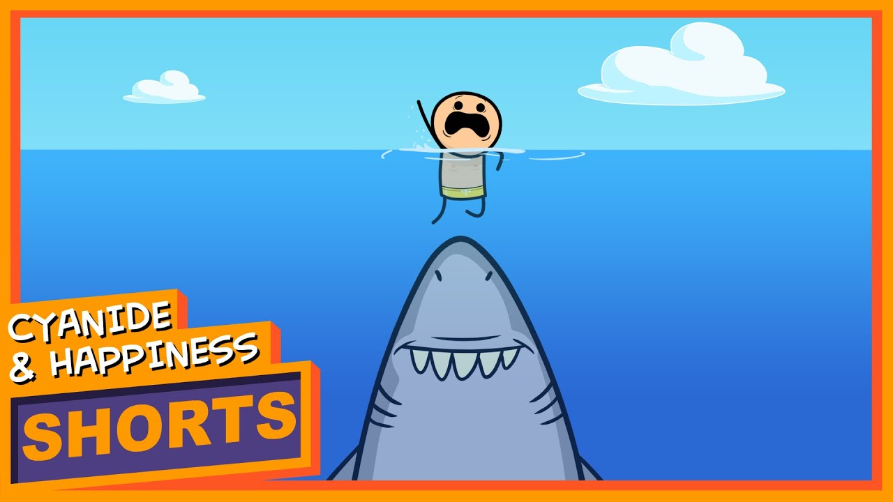 Shark Attack – Cyanide & Happiness Shorts