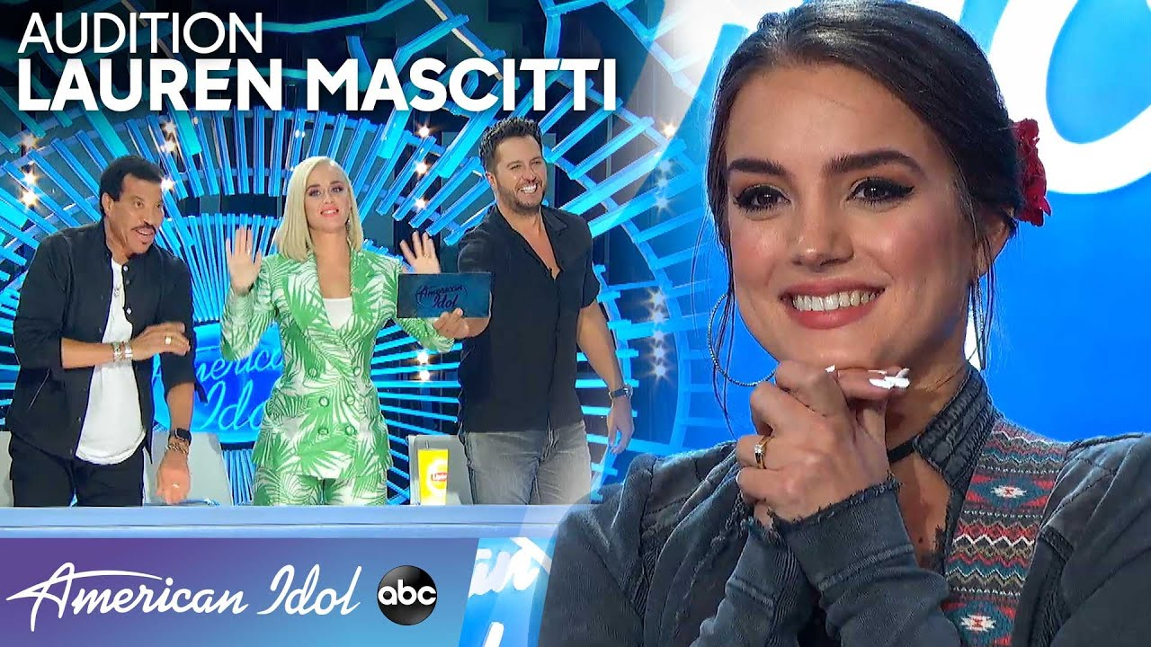Shawn Camp's Fiancée Lauren Mascitti Woos the Judges With Original Song – American Idol 2020