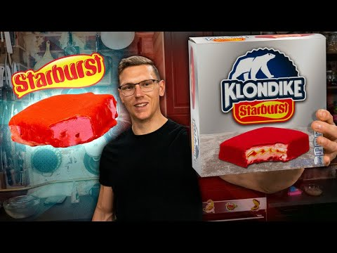 Starburst Klondike Bar Taste Test | SNACK SMASH | Mythical Kitchen