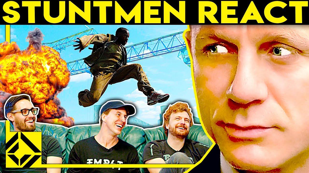 Stuntmen React To Bad & Great Hollywood Stunts 11