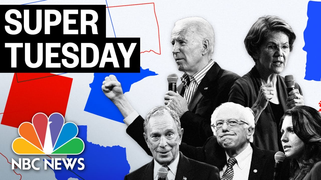 Super Tuesday: California, Texas Election Results | (Live Stream)