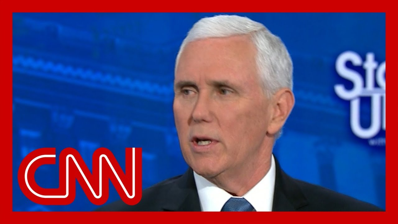 Tapper presses Pence: Do you think Democrats want people to get coronavirus?
