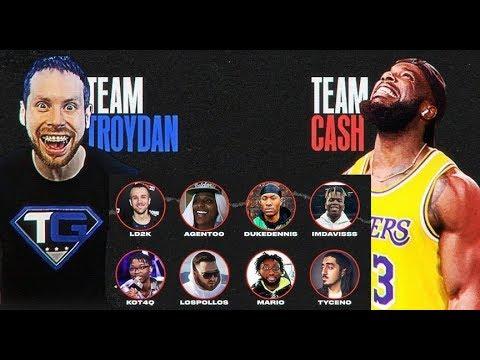 Team Troydan vs Team Cash – NBA 2K20 Youtuber Team up
