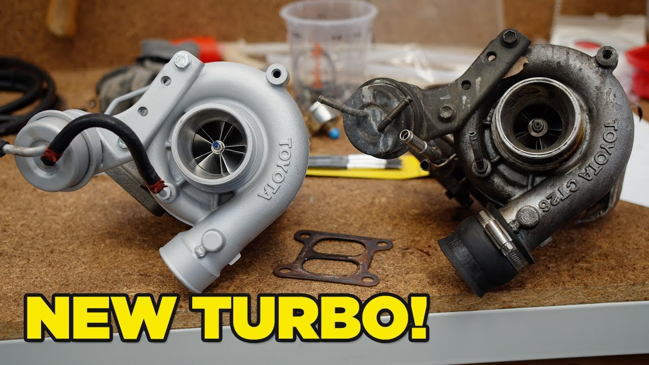 The MR2 gets a shiny new turbo