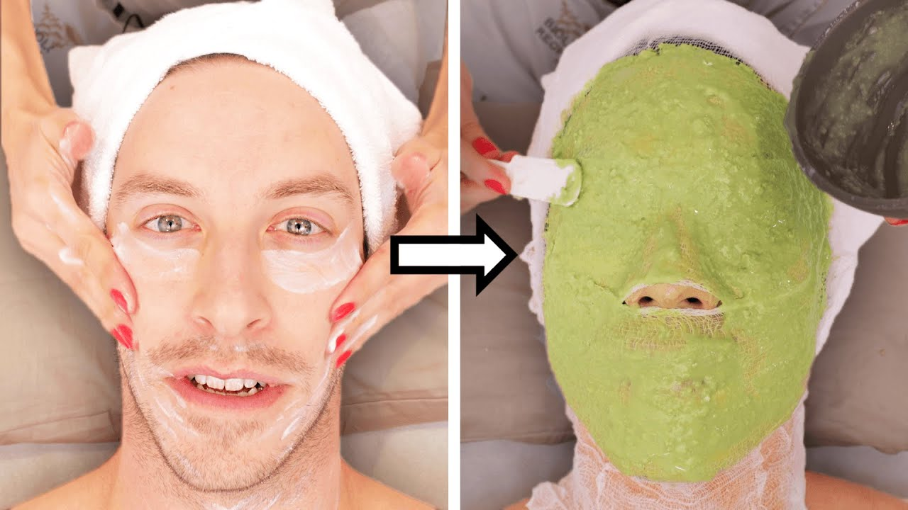 The Try Guys Try $775 Red Carpet Facials