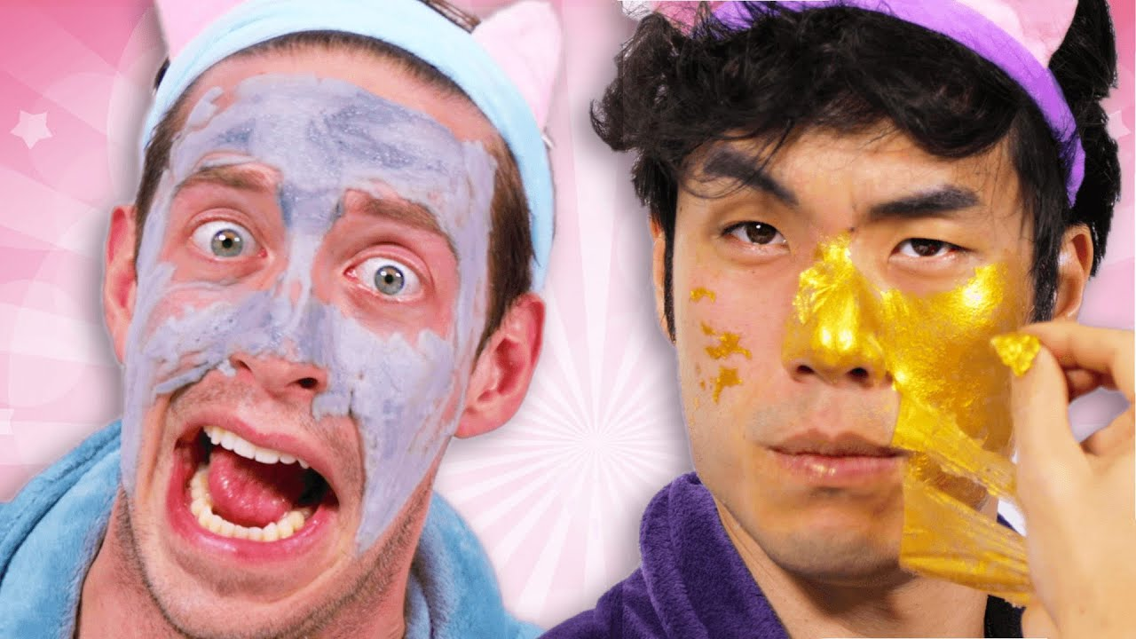 The Try Guys Try Extreme Korean Skincare Products