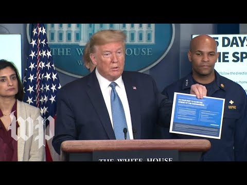 WATCH: President Trump and the Coronavirus Task Force holds a news conference at the White House