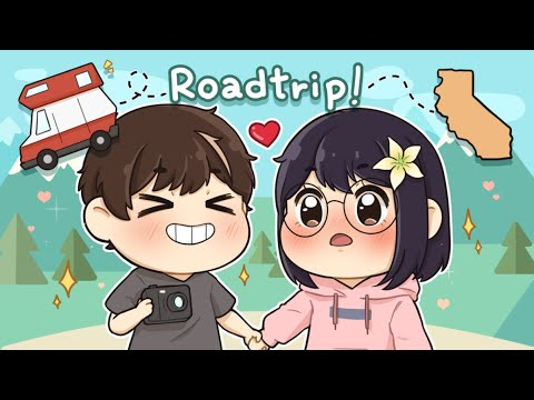 WE'RE DATING NOW, RIGHT?! Ft. Michael Reeves – Road Trip | Crunchyroll Awards