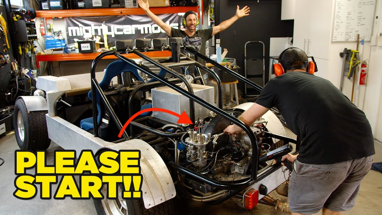 WILL IT RUN? Turning The Key After 5 Years  [$10,000 Rear Engine Challenge]