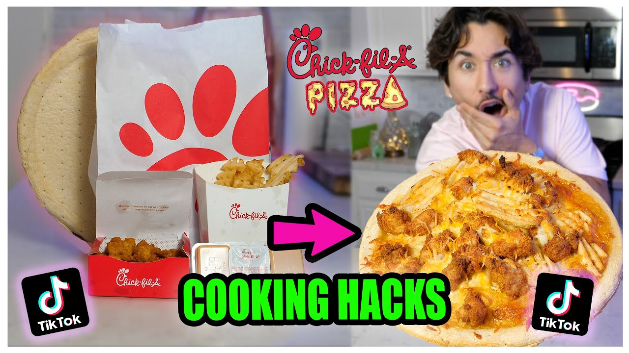 We TASTED Viral TikTok Cooking Life Hacks… (Chick-fil-a PIZZA?) *Part 6*