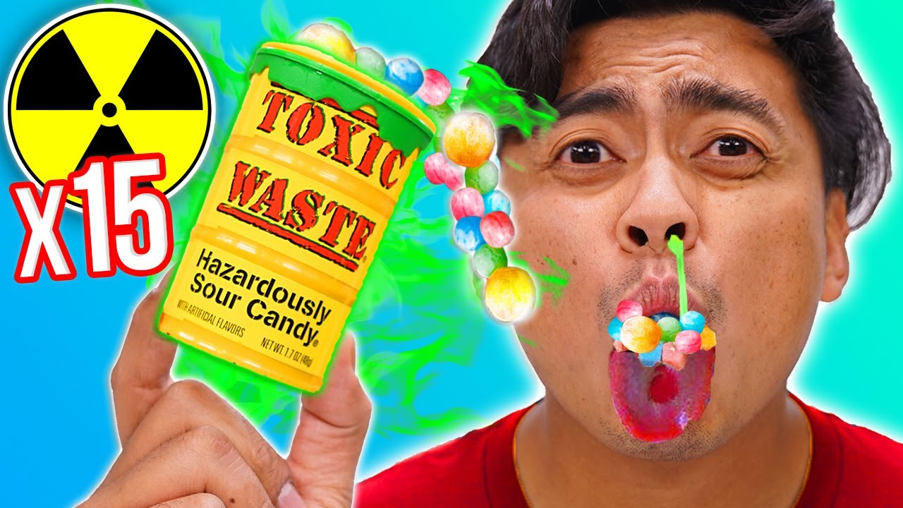 World's SOUREST Candy x100  – Challenge (Toxic Lvl: 2,000)