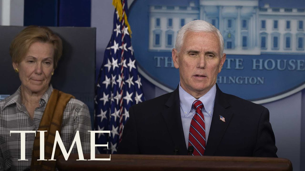 Members of the Coronavirus Task Force Hold a Press Briefing | TIME