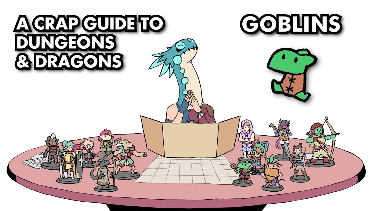 A Crap Guide to D&D [5th Edition] – Goblins