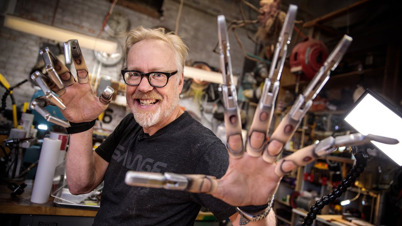 Adam Savage's New Mechanical Claws!