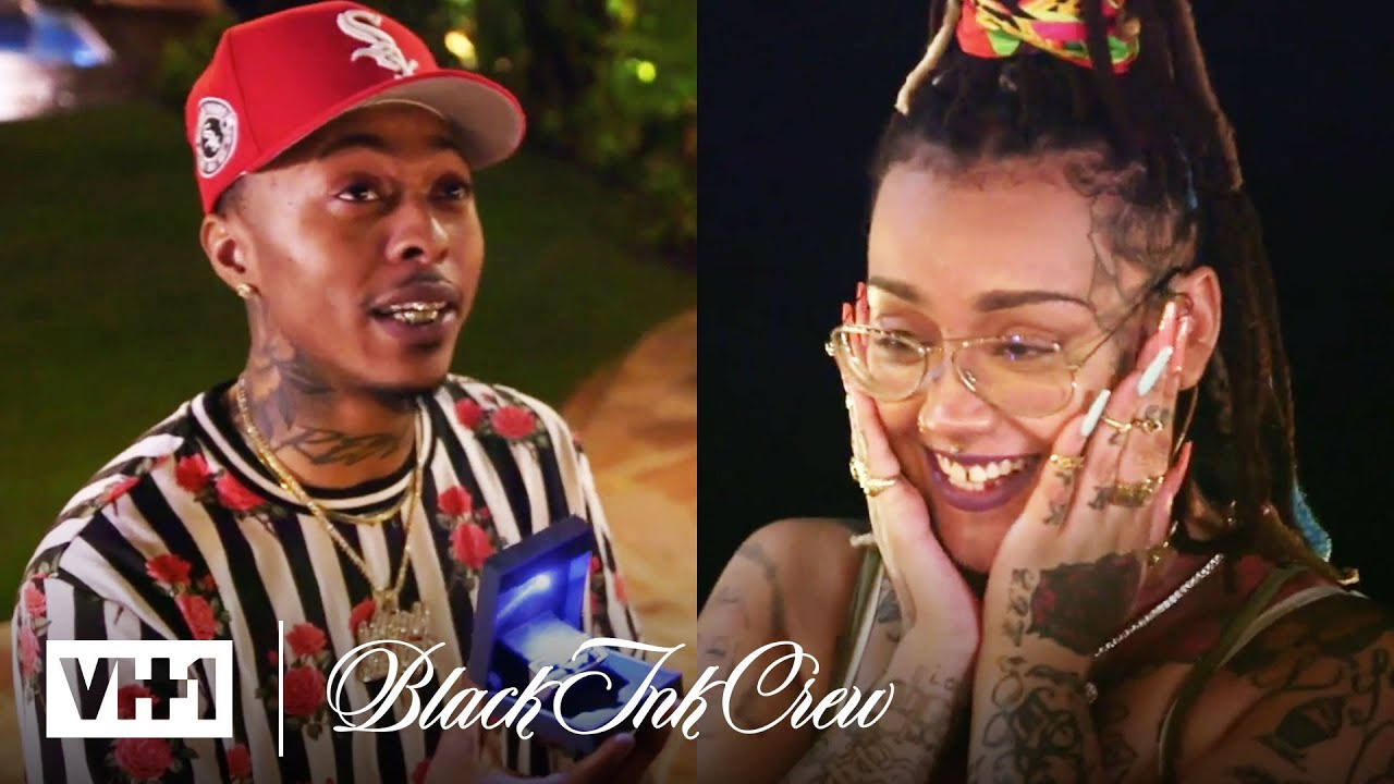 Alex Proposes to Donna ? Black Ink Crew