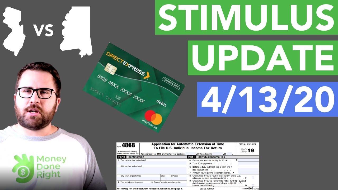 April 13 Stimulus Update: Is the Stimulus UNFAIR?