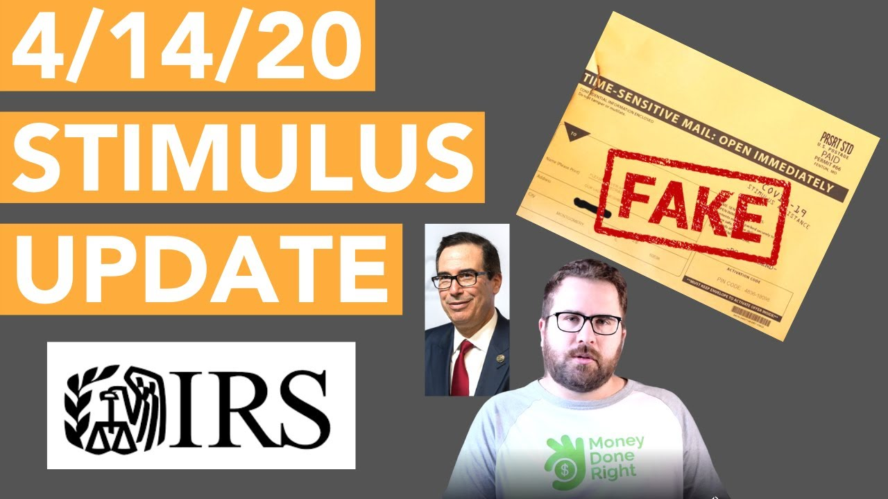 April 14 Stimulus Update: IRS Get My Payment Tool Update, Disgusting Stimulus Marketing, and More