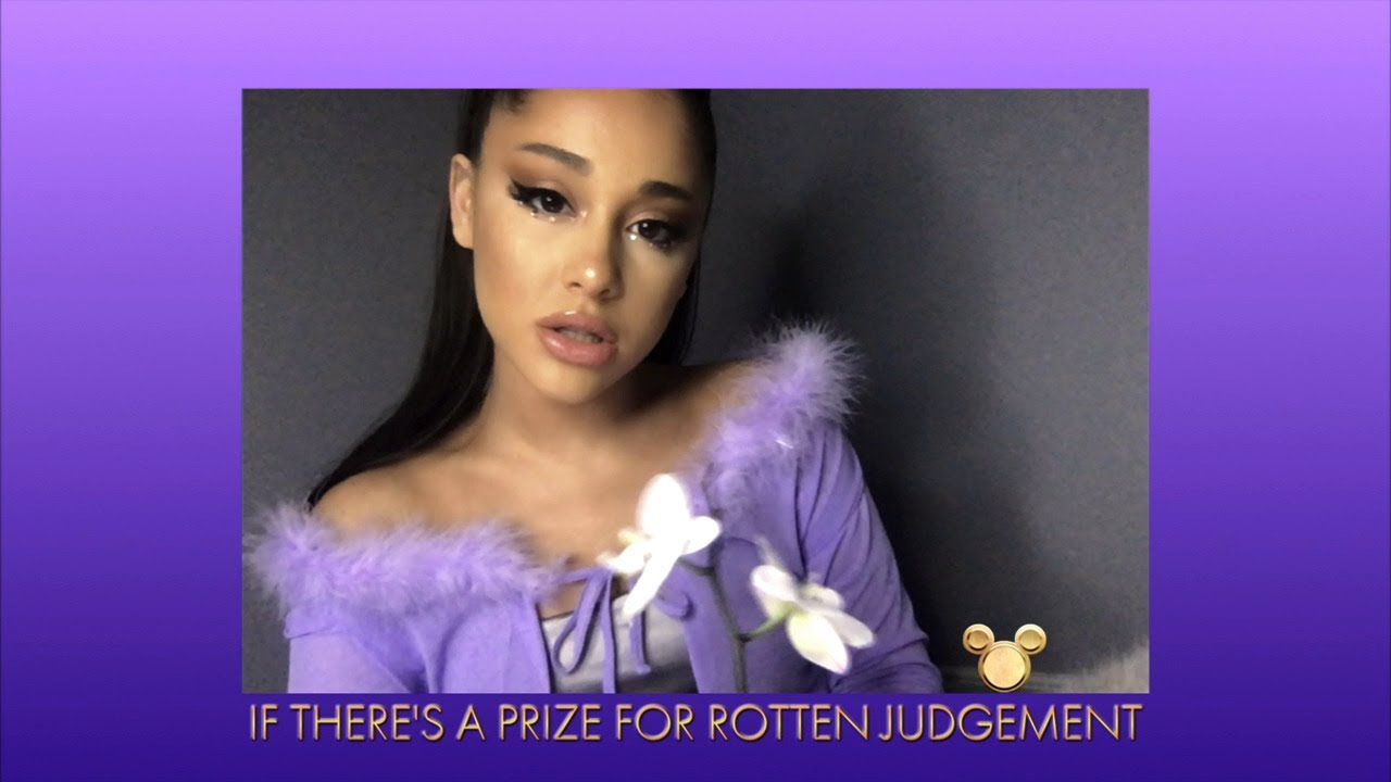 Ariana Grande Performs 'I Won't Say I'm In Love' – The Disney Family Singalong