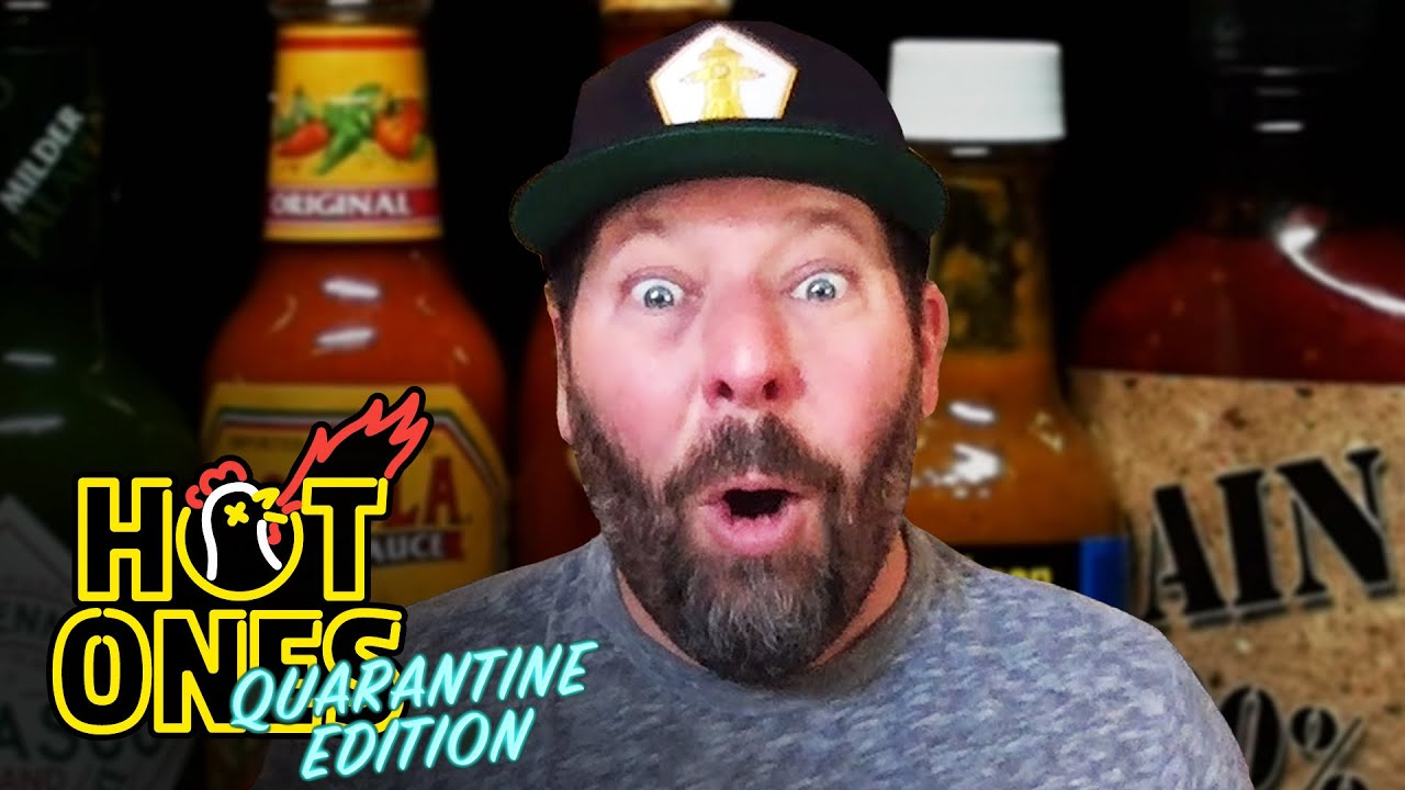 Bert Kreischer Returns For A Rematch Against Spicy Wings | Hot Ones