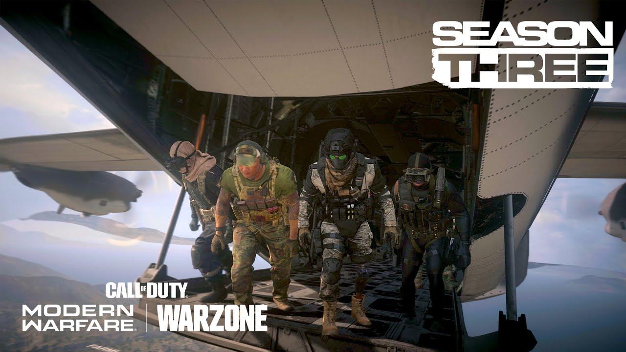 Call of Duty®: Modern Warfare® & Warzone – Season 3 Trailer