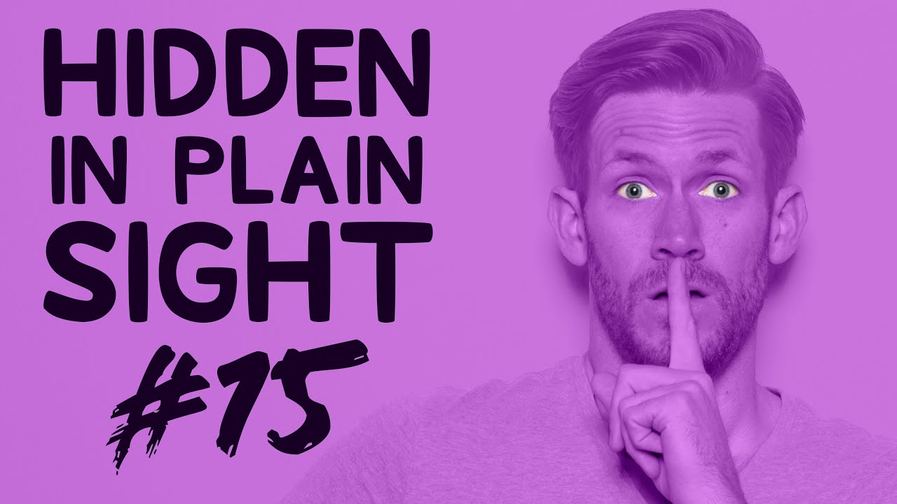 Can You Find Him in This Video? • Hidden in Plain Sight #15