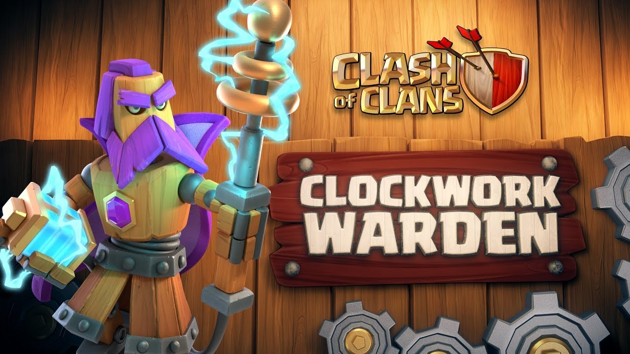 Clash of Clans: Clockwork Warden (April Season Challenges | Clashy Constructs #1)