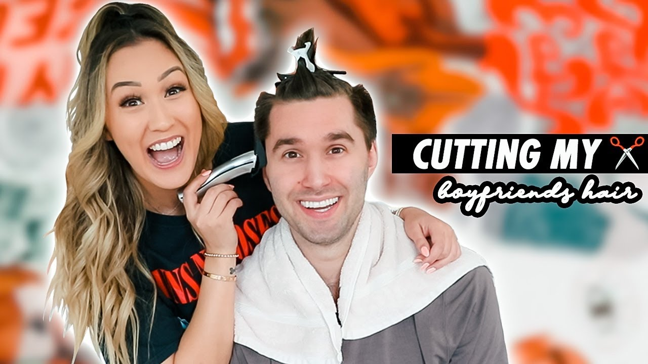 Cutting My Boyfriend's Hair (Cuz Quarantine)