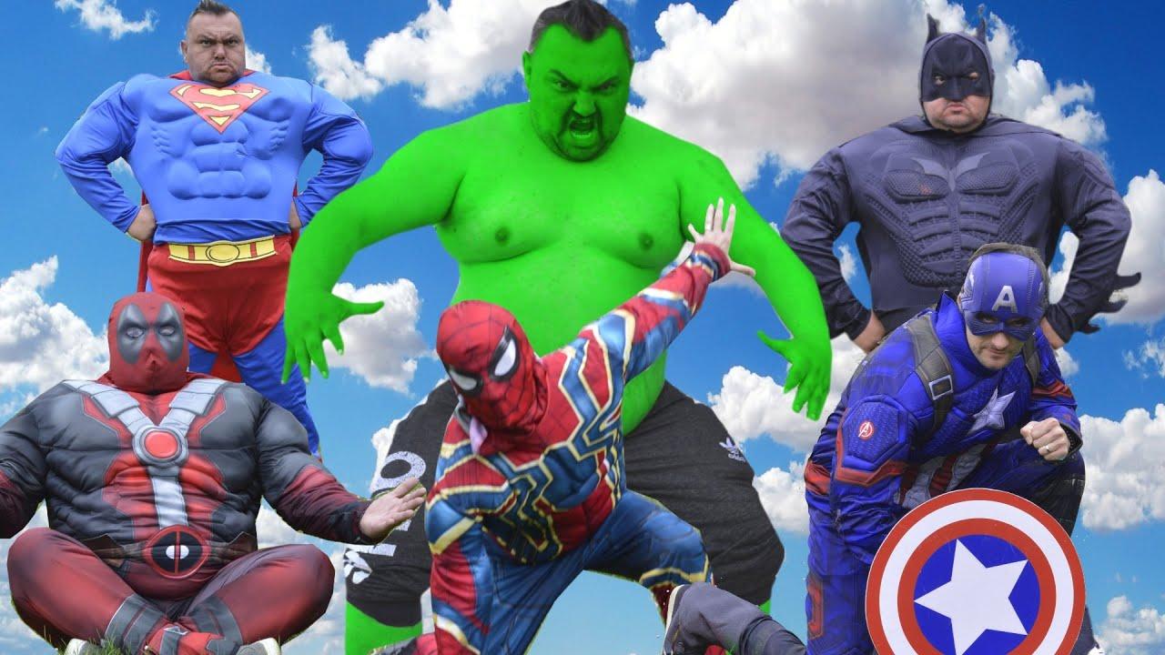 Epic Superheroes Battle